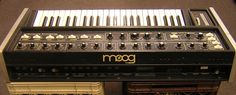 MATRIXSYNTH: MOOG MULTIMOOG Vintage Analogue Synthesizer 1978 with Original Manual