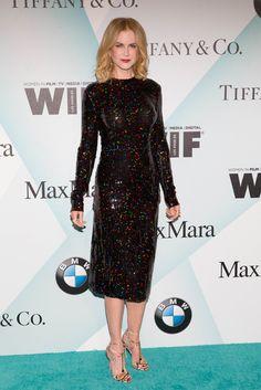 Women In Film 2015 Crystal + LucyAwards, Nicole Kidman in Nina Ricci