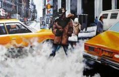 "Saatchi Art Artist Thomas Saliot; Painting, ""Black stetson Ny"" #art"