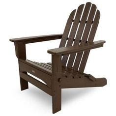 Cape Cod Vintage Lantern Folding Patio Adirondack Chair