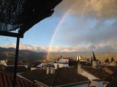 rainbow over #melegis #lecrin #valley #granada #province