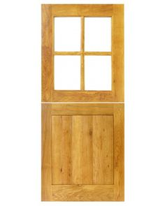 Solid Oak Traditional External 4 Panel Stable Door The 4 Panel Stable Solid Oak Door is a popular design, adding charm and character to country properties, cottages and more contemporary dwellings alike. The 4 Glazed External Doors, External Oak Doors, Internal Doors, Solid Oak Doors, Oak Front Door, Replacement Kitchen Doors, Door Protection, Cottage Door, Cottage Living
