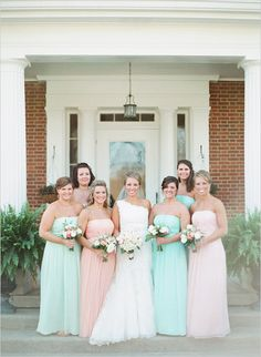 Pastel equestrian wedding. Captured By: Nina and Wes Photography #weddingchicks http://www.weddingchicks.com/2014/10/13/pastel-equestrian-wedding/
