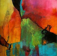 Agnes Lang Art Abstract art Fantasy Contemporary Art