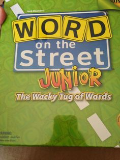 Outside the Box: Word on the Street Junior Review by Crafty