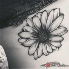 Outstanding tattoo: Cute Daisy Flower Tattoo for Women . Come and have a look at more top quality tattoo ideas