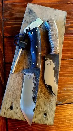 Dark Timber Custom Knives hand forged bushcraft knife
