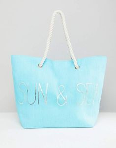 96c852a5fd South Beach Blue Sun   Sea Beach Bag South Beach