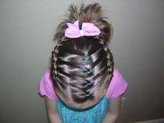 creative kids hairstyles with | http://newhairstylesforgirls.blogspot.com