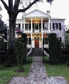 Elizabeth Barnwell Gough House, Beaufort, South Carolina, 1789.