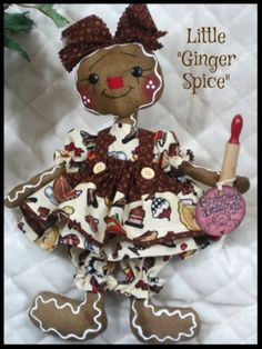 Primitive-Raggedy-NEW-SPICE-Gingerbread-Collection-12-doll