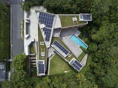Casa sustentável esbanja personalidade - Casa Vogue | Casas