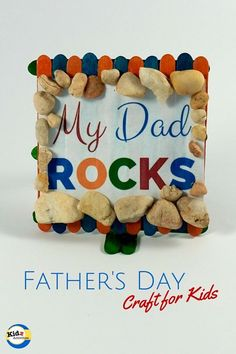 Dad Rocks Father's Day Craft - Kidz Activities