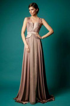 Maravillosos vestidos de noche   Moda Otoño - Invierno