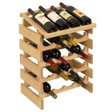 The 28 Bottle Dakota Wine Storage Rack is a red oak wine rack kit that's made in the U. from North American red oak. Wine Bottle Rack, Wine Glass Rack, Bottle Wall, Bottle Holders, Glass Bottle, Wine Bottles, Wine Stand, Wood Wine Racks, Wine Collection