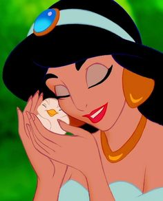 Day 2: Favorite princess~ Jasmine!!