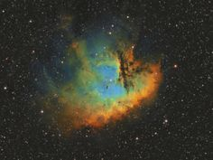 NGC 281 - The Pacman Nebula in Hubble palette(by CraigNTammy)