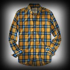 Aeropostale メンズ シャツ エアロポステール Long Sleeve Plaid Woven Shirt シャツ-アバクロ 通販 ショップ-【I.T.SHOP】 #ITShop