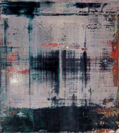 Gerhard Richter, Abstraktes Bild (Abstract Painting), 1995. Oil on canvas. 92cm H x 82cm W. [828-2]