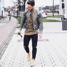 Estilos de hombres/Men fashion #MensFashionGrunge #RunwayFashion