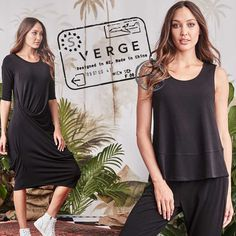 Time to stamp the passport.  Trying to decide where we should go next?  Anyone heading anywhere soon? Try our new luxe travel wear Mardi Group that will get you travelling in comfort and style at same time.  This fabric does not crease and can be rolled up small into your luggage.  All our Mardi Group is Made in NZ.  #vergecollection #madeinnz #allblackeverything #destination_wow #traveltheworld Travel Wear, All Black Everything, Passport, Traveling By Yourself, Travelling, How To Make, How To Wear, Stamp, Group