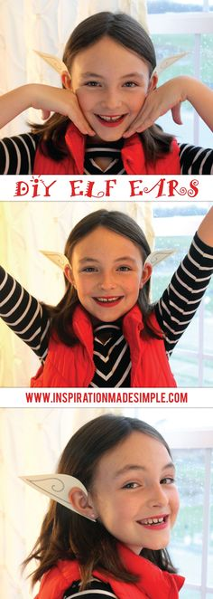 Use this printable template to make DIY Elf Ears! Fun for playing dress up, using as a photobooth prop or for a family Holiday Card photo! Diy Elf Costume, Diy Costumes, Costume Ideas, Fun Christmas Activities, Indoor Activities, Craft Activities For Kids, Holiday Photo Cards, Holiday Fun, 20th Birthday