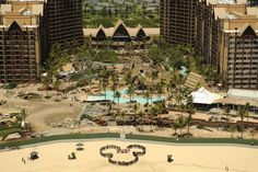 Aulani, Disney's Hawaii Resort... Oh yes, I will be basking in the sun... holding hands with the love of my life, my husband... our 28th wedding anniversary!