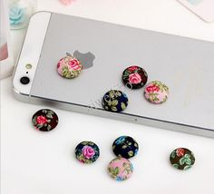 50 pcs Mixed Color Fabric Buttons Covered Buttons by aiweilibo, $3.50