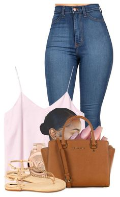 Untitled #2531 by alisha-caprise on Polyvore featuring polyvore fashion style Monki Forever 21 MICHAEL Michael Kors Michael Kors clothing
