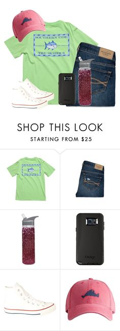 """""""Going to woodmans today"""" by highheel-hannah ❤ liked on Polyvore featuring Southern Tide, Abercrombie & Fitch, Converse and Harding-Lane"""