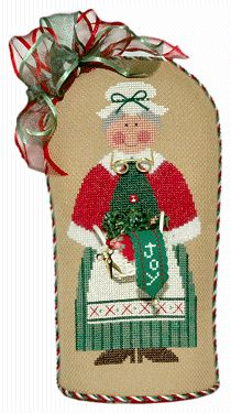 Flossie Claus Kit from Lizzie Kate Counted Cross Stitch Designs Counted Cross Stitch Patterns, Cross Stitch Designs, Cross Stitch Embroidery, Bargello Patterns, Lizzie Kate, Christmas Stockings, Christmas Ornaments, Christmas Cross, Hand Stitching