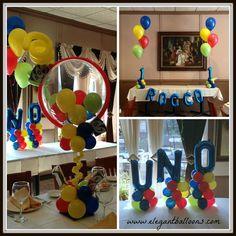 #unothemedballoons #unoparty #uno #unofirstbirthday #elegantballoons #firstbirthdayballoons