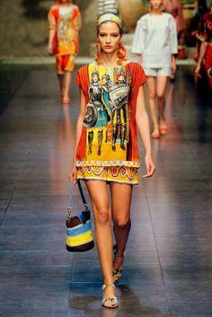 Fashion prints spring summer 2013 dolce gabbana