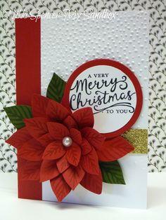 Festive Flower builder punch Poinsettia, Softly Falling EF, Reason for the Season stamp set