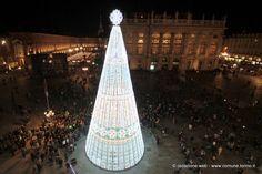 L'albero di Natale in Piazza Castello #Torino
