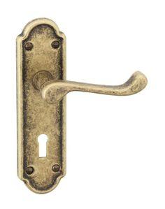 Allgood holborn brass chrome lever door handles 1930s for 1930 door locks