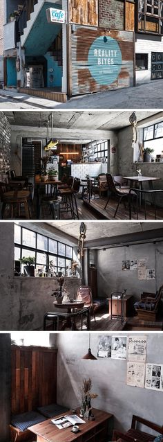 Best of Interior Designs Ideas Cafe Restaurant Bistro Interior, Estilo Interior, Industrial Interior Design, Cafe Interior, Industrial Style, Coffee Shop Bar, Coffee Shop Design, Cafe Restaurant, Restaurant Design