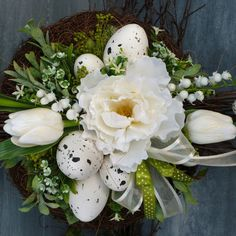 Easter Decor, Garden, Holiday, Flowers, Crochet, Garten, Vacations, Lawn And Garden, Gardens