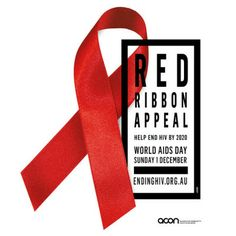 Nov 29 - Dec 1, 2013 is Red Ribbon Appeal for World AIDS Day. Go to www.healthaware.org for link to more information. World Aids Day, Red Ribbon, November, Link, November Born, Red Band