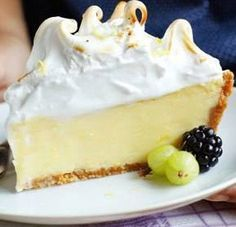 1 Tin Condensed Milk 3 Eggs ½ Cup Lemon Juice ½ Cup Castor Sugar 1 x As Easy As Pie READY MADE PIE BASE METHOD...