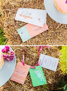 festival wedding stationery, wedding invites as festival tickets, festival weddings