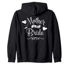 Amazon.com: Mother of the Bride Sweet Retro Zip Hoodie: Clothing Golf Quotes, Funny Quotes, Family Gifts, Gifts For Mom, Mothers Day Shirts, Cheer Mom, Love Bear, Christian Gifts, Boyfriend T Shirt