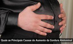 Quais as Principais Causas do Aumento da Gordura Abdominal ➡ http://www.segredodefinicaomuscular.com/quais-as-principais-causas-do-aumento-da-gordura-abdominal/ #SegredoDefinicaoMuscular