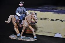BRITAINS 17404 CONFEDERATE CAVALRY PRIVATE MOUNTED METAL TOY SOLDIER FIGURE 4