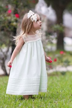 The perfect sundress to pull out for any occasion. The simplistic beauty of the lace yoke and shoulder bands is enough to wish we all had one in...