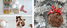basteln rinde styropor kugeln kleben anleitung schmuck weihnachten