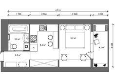 планировка квартиры 27 кв.м: 19 тыс изображений найдено в Яндекс.Картинках