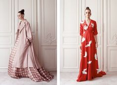Delphine Manivet's Paris Couture Debut, with Bridal Beginnings