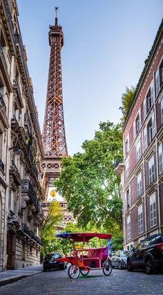 Eiffel tower - Paris, France   by Serge Ramelli