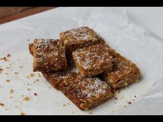 Anzac Slice Recipe - Cakes & Baking